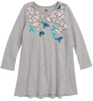 Tea Collection Blossoms T-Shirt Dress