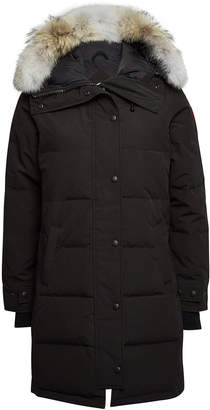 Canada Goose Shelburne Down Parka with Fur-Trimmed Hood