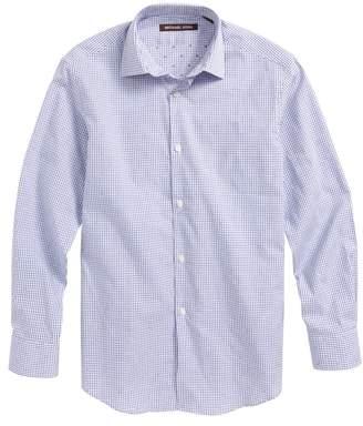 Michael Kors Mini Check Dress Shirt