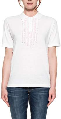 DSQUARED2 White/pink Polos