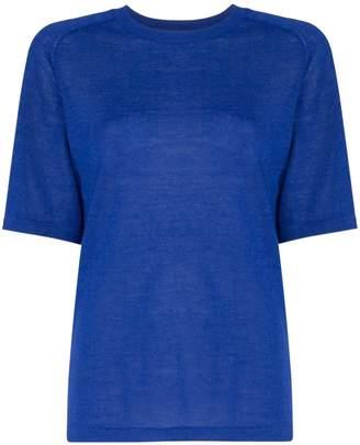 Carcel Uni Short Sleeve alpaca wool T-shirt