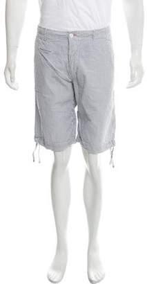 Mason Flat Front Seersucker Shorts