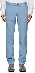 Barneys New York MEN'S COTTON TWILL CHINOS