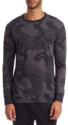 G Star Camo Long Sleeve T-Shirt