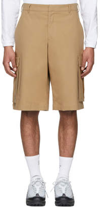 Martine Rose Beige Cargo Shorts