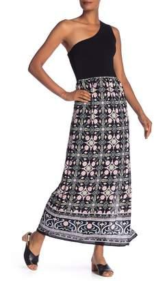 Rachel Roy One Shoulder Maxi Dress
