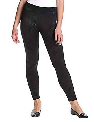 PINK ROSE Women's Camo Embossed Fleece Legging
