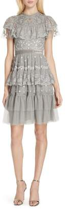 Needle & Thread Cinderella Tiered Lace Dress