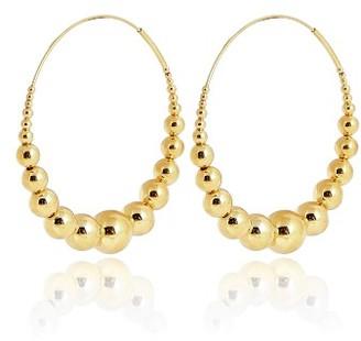 Women's Gas Bijoux Multiperla Hoop Earrings $188 thestylecure.com