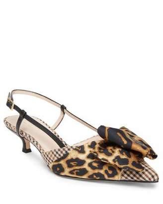 Kate Spade Daxton Kitten-Heel Slingback Pumps
