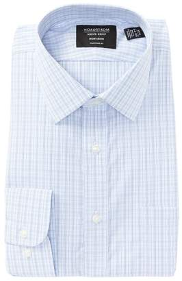 Nordstrom Traditional Fit Plaid Dress Shirt