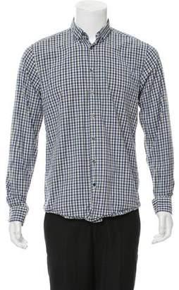 Tiger of Sweden Plaid Button-Up Shirt