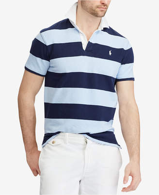 Polo Ralph Lauren Men's Custom Slim Fit Striped Rugby Shirt