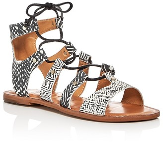 Dolce Vita Jasmyn Lace Up Gladiator Sandals $90 thestylecure.com