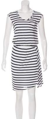 Theory Striped Casual Dress