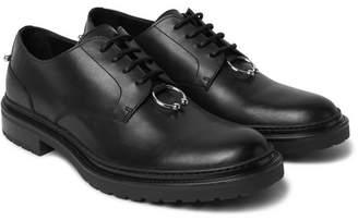 Neil Barrett Embellished Leather Derby Shoes