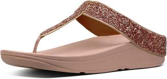 FitFlop Fino Quartz Toe-Thongs
