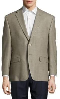 Lauren Ralph Lauren Windowpane Plaid Jacket