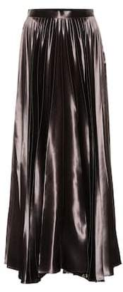 The Row Vailen satin maxi skirt