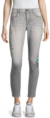 A.N.A Floral Skinny Ankle Pant - Tall Inseam 30