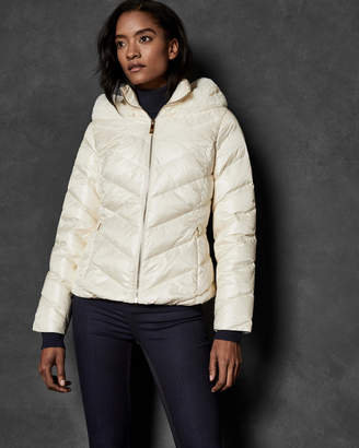 Ted Baker LAIYA Chevron quilted jacket