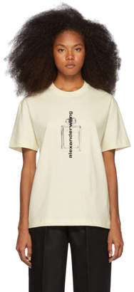 Alexander Wang Off-White Graphic T-Shirt