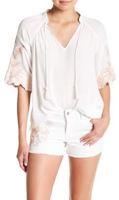 Jessica Simpson Catalina Short Raglan Sleeve Blouse