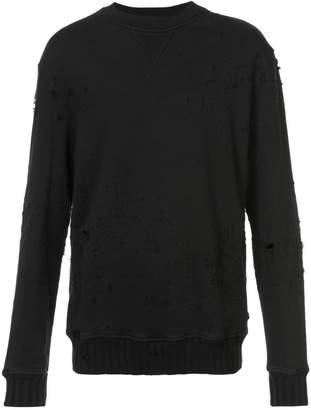 Amiri Shotgun crew neck sweater