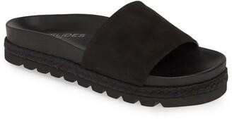 J/Slides Espadrille Slide Sandal