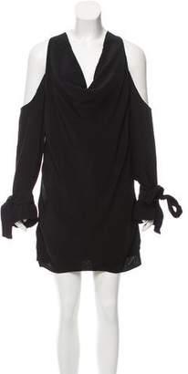 Keepsake Cold-Shoulder Mini Dress w/ Tags