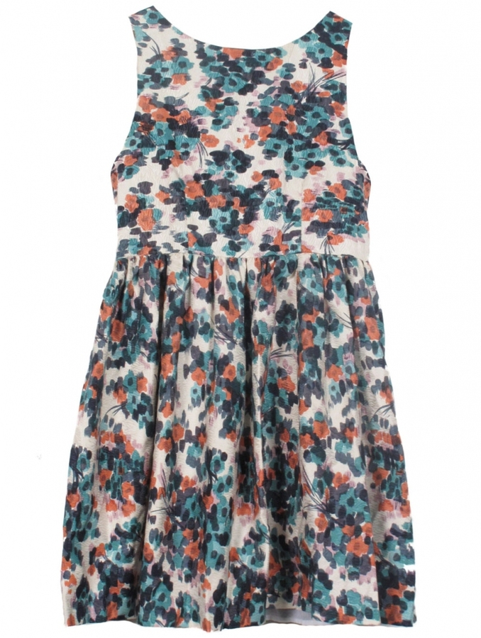 Wren Sleeveless Floral Dress