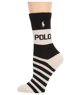 Lauren Ralph Lauren Polo Sport Logo Crew 1-Pack