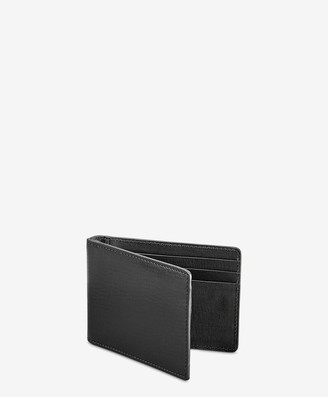 GiGi New York Money Clip, Black Vachetta Leather