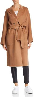 Anine Bing Dylan Wool & Cashmere Overcoat