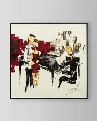 "John-Richard Collection Music in Red"" Canvas Art by Zabel"