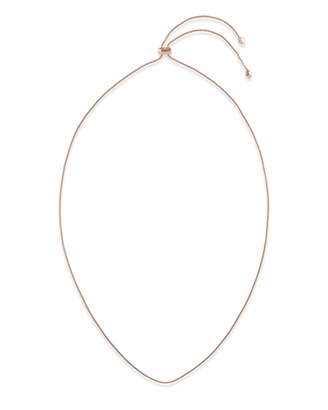 Kendra Scott Thin Adjustable Chain Necklace