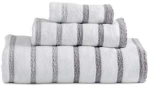 DKNY Parsons Stripe Bath Towel