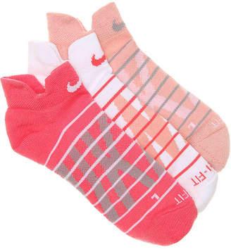 Nike Graph No Show Socks - 3 Pack - Women's
