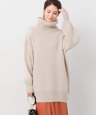 CLANE (クラネ) - JOINT WORKS CLANE big turtle mohair knit◇