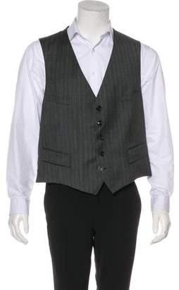 Gucci Striped Wool Vest w/ Tags