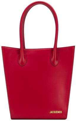 Jacquemus logo bucket bag