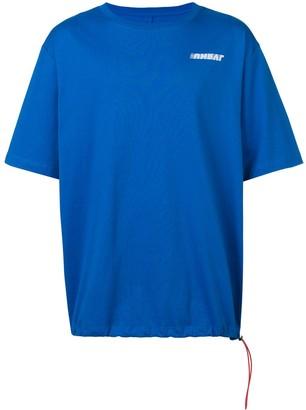 Unravel Project drawstring hem T-shirt