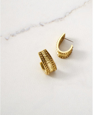 Express House Of Harlow Helicon Statement Earrings $77 thestylecure.com