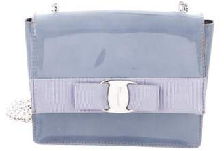 376a3153ee Salvatore Ferragamo Blue Leather Crossbody Handbags - ShopStyle