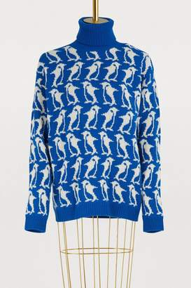 Moncler Wool and cashmere sweater
