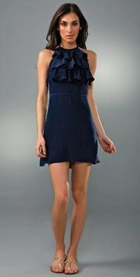 Brette Sandler Swimwear Sydney Ruffle Cover-Up Dress