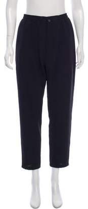 Lanvin Woven Cropped Pants
