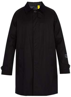 Moncler 7 Fragment Genius Down Filled Cotton Rain Coat - Mens - Black