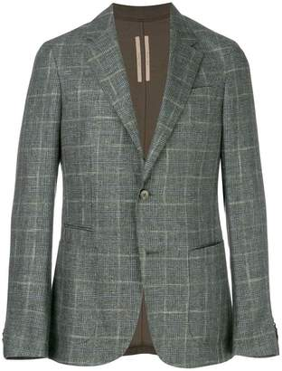 Ermenegildo Zegna plaid patterned blazer