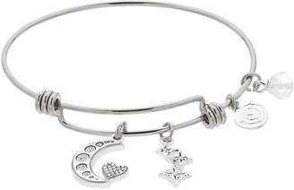 Love This Life love this life Moon & Stars Bangle Bracelet